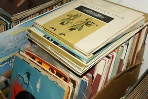 Job lot Collection of around 200 mostly classical music & Opera LP's