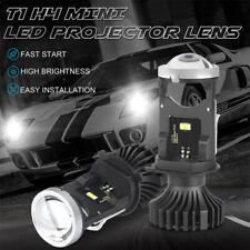 2x H4 9003 Bi-LED Mini Projector Lens 80W 20000LM Bulbs Headlight Kit Hi/Lo Beam