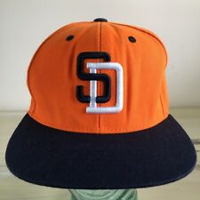 SAN DIEGO PADRES - American Needle Fusion Cooperstown Orange SnapBack Hat