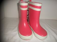 Cat & Jack Toddler/Little Girl Pink  Rubber Rainboots - NWT