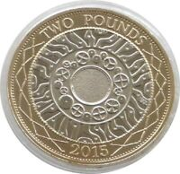 2015 £2 Two Pound Coin Standing on the Shoulders of Giants Uncirculated Coin UNC