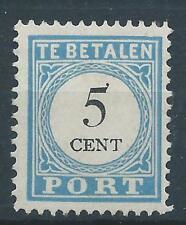 1881TG  Nederland Portzegel  P6 B-IV ongebruikt/MH CW.1625 zie foto's zeldzaam!.