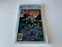 WOLVERINE 1 CBCS 9.8 WHITE PAGES NEWSSTAND GRADED MARVEL COMICS 1988 LIKE CGC