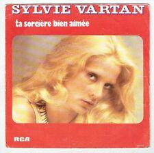"""Sylvie VARTAN Vinyle 45T 7"""" TA SORCIERE BIEN AIMEE -SOUVENIRS RCA 42155 F Rèduit"""