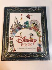 The Disney Book Easton Press Leather Book RARE Celebration of World of Disney