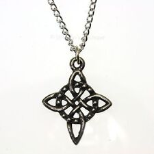 New Pewter Northern Knot Viking Pendant Necklace - Happy Love Friendship Charm