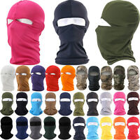 Mens Womens Full Face Balaclava Mask Cycling Motorcycle Ski Under Helmet Camo