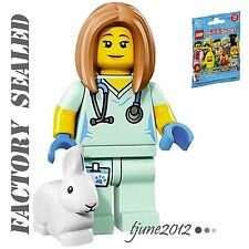 NEW LEGO 71018 Minifigures Series 17 Veterinarian FACTORY SEALED PACK