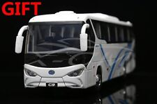 Bus Model Byd Pure Electric Bus C9 1:36 (White) + Small Gift!