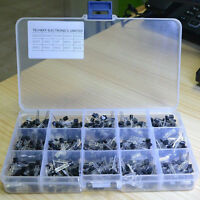600Pcs 15 Value x 40 Pcs Transistor TO-92 Assortment Box Kit New