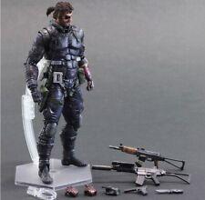 Play Arts Kai Metal Gear Solid V The Phantom Pain Snake Action Figure Original