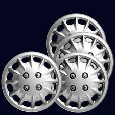 """4 UNIVERSAL FIT 13"""" INCH CAR WHEEL TRIMS COVERS REPLACEMENT R13 HUB CAPS SET"""