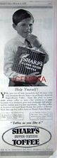 Sharp's 'SUPER-KREEM' Toffee; Original 1927 Advert - Vintage Art Deco Print AD