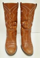 Seychelles Boots Western Cowboy Fashion Embroidered Floral Size 7 VTG Distressed