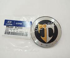 HYUNDAI TIBURON TUSCANI Coupe 2003 2004 2005 2006 OEM Front Hood Emblem Badge