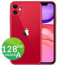 APPLE IPHONE 11 128gb ROSSO RED GRADO A RIGENERATO RICONDIZIONATO GARANZIA