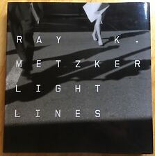 SIGNED Ray Metzker Light Lines First Edition 2008 Steidl Hardback