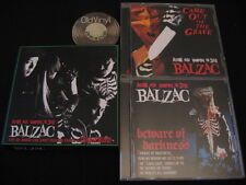 4 CD BALZAC Terrifying Beware of Darkness Came out of the grave