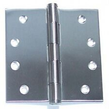 Bolton 4inch Square Corner Heavy Duty 2 Ball Bearing Stainless Steel Butt Hinge