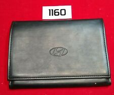"""Empty 9'x6"""" Hyundai Factory Owner's Owners Manual Guide Book Cover Case Folder"""