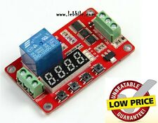 E23 12V Multifunction Selflock Programmable Automation Cyclic Delay Timer Module