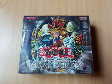 Yugioh Metal Raiders Unlimited Booster Box Factory Sealed (EU Version)