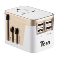 Universal Travel Adapter Charger Converter Dual USB Universal Travel AC Power