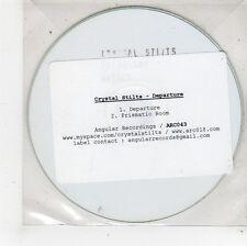 (FU595) Crystal Stilts, Departure - 2009 DJ CD