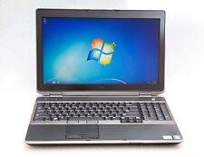 """Dell Latitude E6520 15.6"""" Core i7-2640M 2.8GHz 4GB 500GB Wn7 Webcam 1080p Laptop"""
