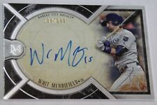 SIGNED 2018 TOPPS MUSEUM COLLECTION AA-WM WHIT MERRIFIELD AUTO #/299 ROYALS