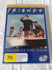 FRIENDS – SEASON - 3, DVD, 4- DISC SET, R-4, VERY GOOD, FREE POST IN AUSTRALIA