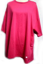 Jerzees Womens Size 2XL Pink T Shirt Short Sleeves Crew Neckline Cotton Blend
