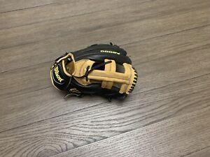 "Wilson A2000 EL3 11.75"" Single Post Web Baseball Glove Black Camel"