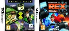 ben 10 triple pack & generator rex agent of providence    new&sealed