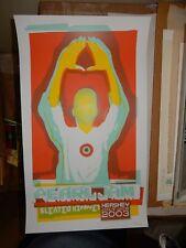 Pearl Jam Poster July 12, 2003  Hershey, PA Hershey Park Stadium Ames