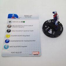 Heroclix Guardians of the Galaxy set Nebula #016 Common figure w/card!