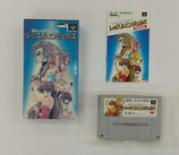 SUPER WRESTLE ANGELS  With Box Nintendo Super Famicom  SFC SNES Japan USED