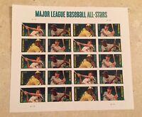 2011 Major League Baseball All-Stars Sheet of 20 Forever Stamps