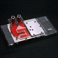 Full-cover GPU Block Video Graphic Card Water Cooling Heat Sink fr Asus GTX 1080