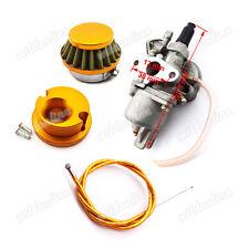 Luftfilter Vergaser Gasseil Gaszug Für 47cc 49cc Pocket Bike Mini Moto Dirt ATV