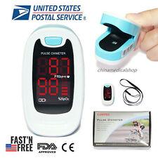 Contec Led Finger Pulse Oximeter Heart Rate Monitor Spo2 Blood Oxygen Sensor Fda