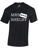 MRS SHELBY UNISEX T-SHIRT FUNNY PEAKY BY ORDER OF THE BLINDERS BROTHERS TOMMY