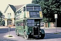 London Transport RT3607 MLL917 6x4 Bus Photo Ref L228