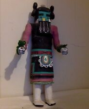 "Vintage Hopi Kachina figure. Cottonwood. Multicolor. Handmade. 14""."