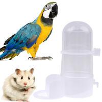 Pet Bird Automatic Drinker Feeder Water Dispenser Clip Parrot Hamster SupplyT_SE