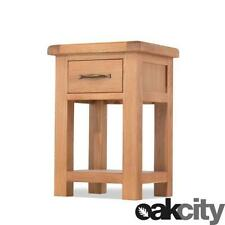 Oak 56cm-60cm Height Bedside Tables & Cabinets with Shelves