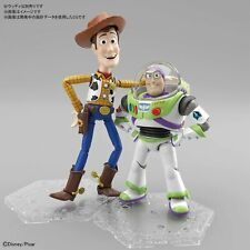 Bandai Disney Pixer Toy Story 4 Woddy and Buzz Lightyear Model Kit in Pair