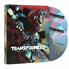 Transformers: The Last Knight Steel book Blu-ray/DVD 2 Disc