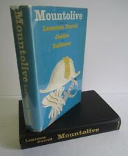 MOUNTOLIVE by Lawrence Durrell, 1959 1st Ed in DJ