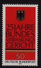 W Germany 1976 Federal Constitutional Court SG 1772 MNH